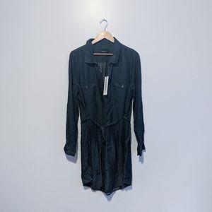 PARASUCO Tencel Denim Shirt Dress | NWT